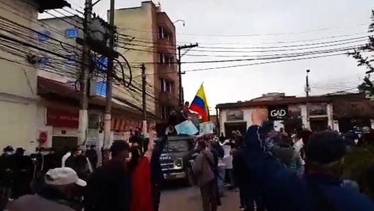 """Movimiento """"Soacha está berraca"""" rechaza afirmaciones del alcalde Saldarriaga"""