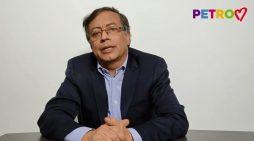 Alocución de Gustavo Petro a la Nación colombiana en la víspera del Paro Nacional contra la reforma Tributaria