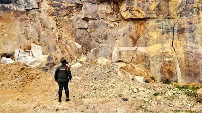 Operativo contra la minería ilegal en zona rural de Soacha
