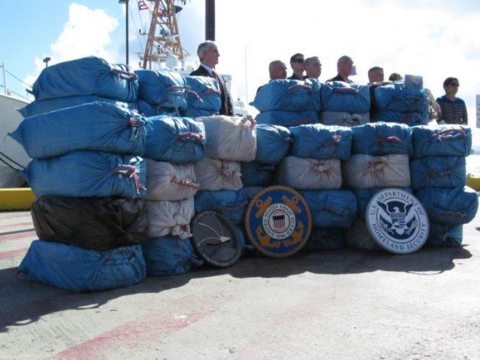 Puerto Rico incauta 2.500 kilos de cocaína a colombianos de semisumergible