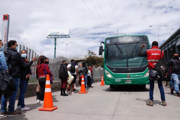 Vuelve a operar TransMilenio en Soacha