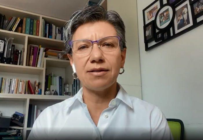 Claudia López confirmó que tiene covid-19