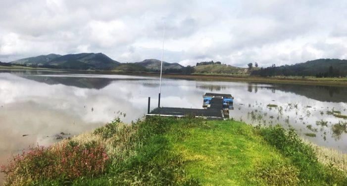 Laguna de Suesca recupera su espejo de agua
