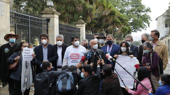 Comité Nacional de Paro, dice que no solo dialogará, sino que negociará pliego de peticiones