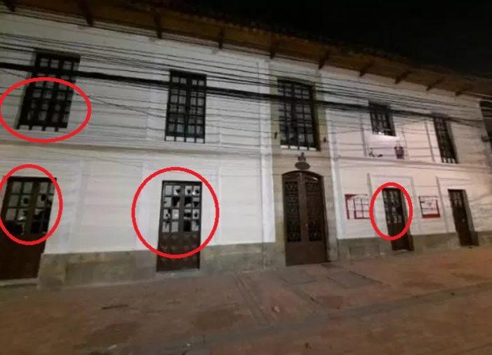Vándalos apedrean Alcaldía y Fiscalía de Soacha