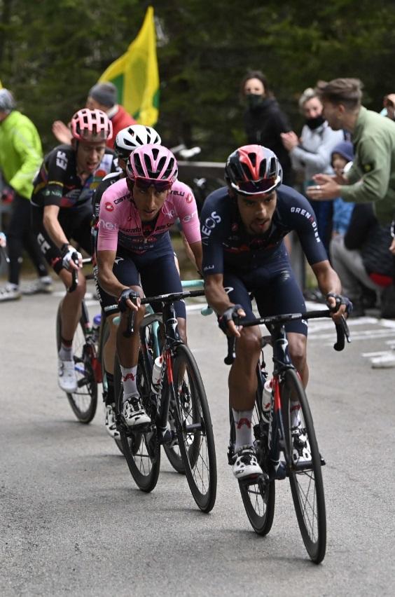 El soachuno Daniel Felipe Martínez, elegido como mejor gregario del Giro de Italia 2021