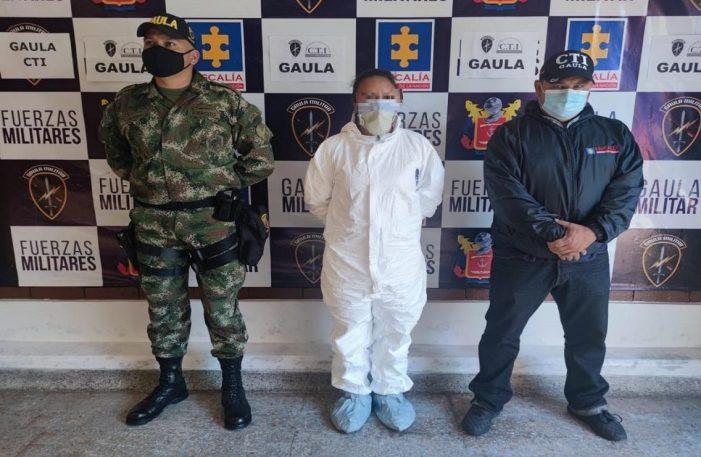 Ejército Nacional y CTI de la Fiscalía capturan presunta extorsionista en el municipio de Soacha