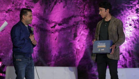 Egan Bernal recibe homenaje en Zipaquirá