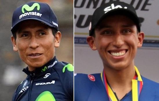 Egan Bernal y Nairo Quintana, entre los cinco mejores ciclistas del siglo XXI