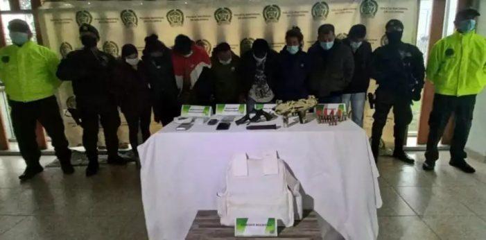 """Capturan a """"los de la Loma"""", señalados de homicidio y expendio de drogas en Soacha"""