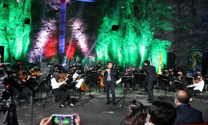 Filarmónica Juvenil de Bogotá celebró en Zipaquirá los 208 años de Cundinamarca