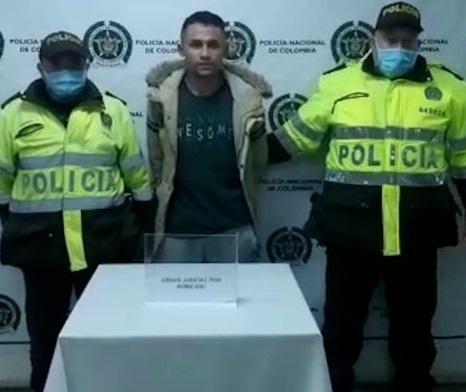 Capturado en Soacha presunto responsable de un homicidio en el barrio Villa del Río
