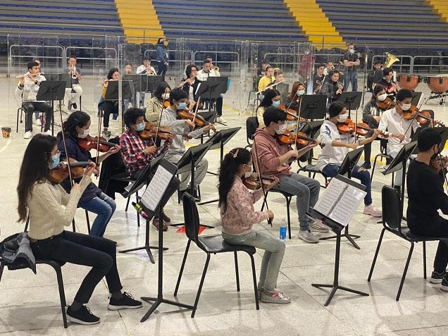 Orquesta Prejuvenil Metropolitana Bogotá-Cundinamarca inicia ensayos presenciales