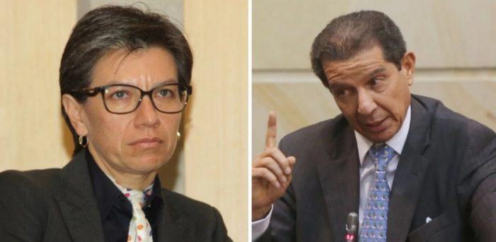 La ultraderecha critica a Claudia López por reunión con integrantes de la 'Primera Línea'