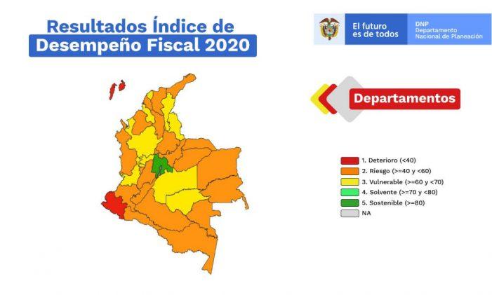Cundinamarca el mejor departamento en la gestión de sus finanzas territoriales
