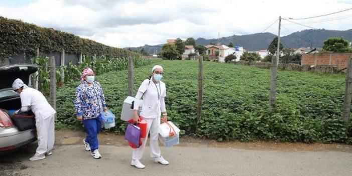 Cundinamarca realiza maratón de vacunación contra COVID-19 para mayores de 18 años