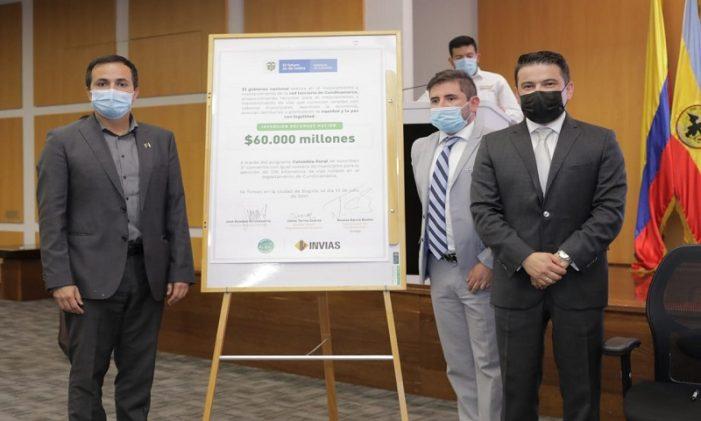 Invías anuncia inversión de $60.000 millones en la atención de vías terciarias de Cundinamarca