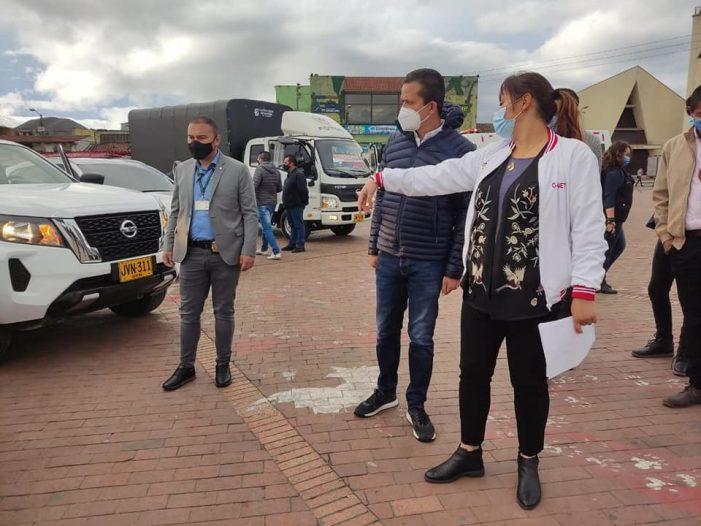 Alcaldía de Soacha adquirió nuevo parque automotor