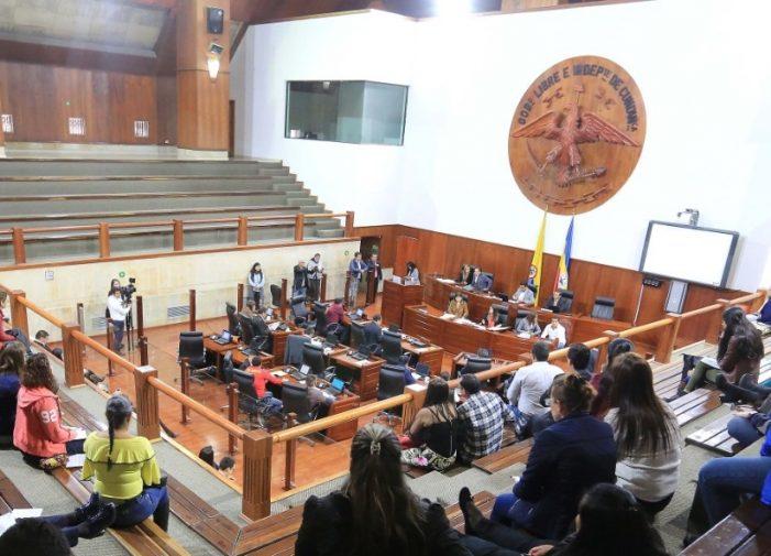 Asamblea de Cundinamarca estudia proyecto que beneficiará a microempresas