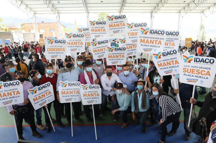Gobernador de Cundinamarca anuncia inversiones por $58.000 millones para la Provincia de Almeidas