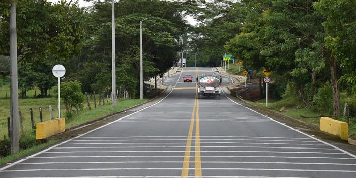El proyecto vial Transversal del Sisga cuenta con un avance del 94,29% en su construcción