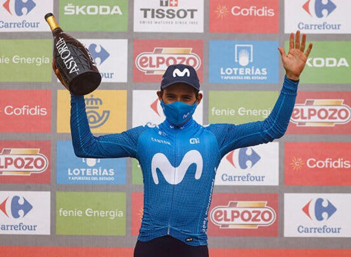 """Superman"" López gana la etapa reina de la Vuelta a España 2021"