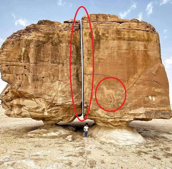 La roca Al Naslaa de Arabia Saudita ¿Evidencia extraterrestre?