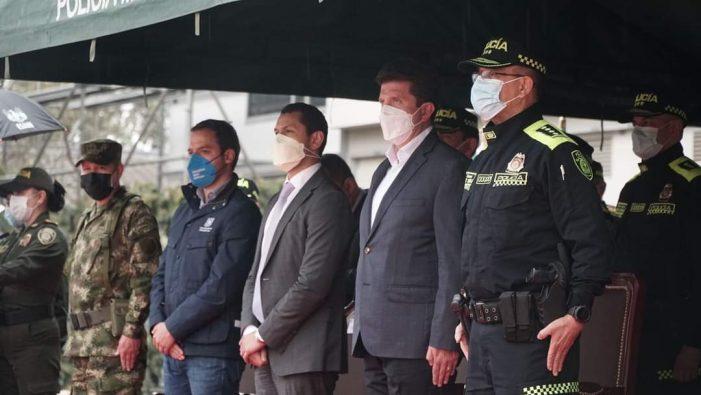 Entró en operación la Región Metropolitana de Policía La Sabana integrada por Bogotá y 23 municipios de Cundinamarca