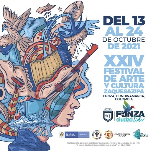 Funza de fiesta con el XXIV Festival de Arte y Cultura Zaquesazipa