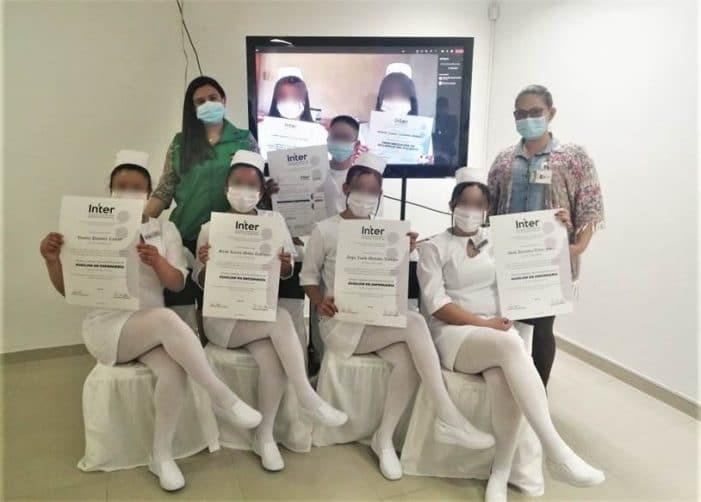 Jóvenes de Responsabilidad Penal del ICBF reciben título de Auxiliar en Enfermería